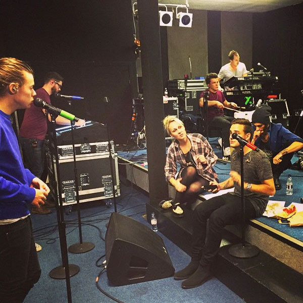 Harry Styles, One Direction, Rehearsal