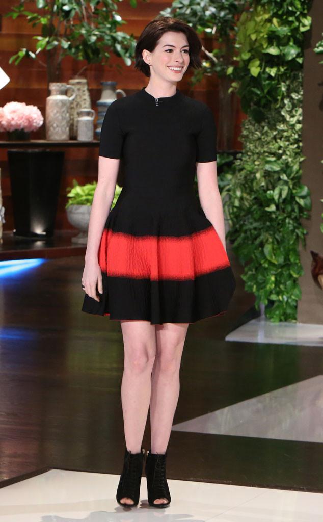 Anne Hathaway, Ellen DeGeneres Show