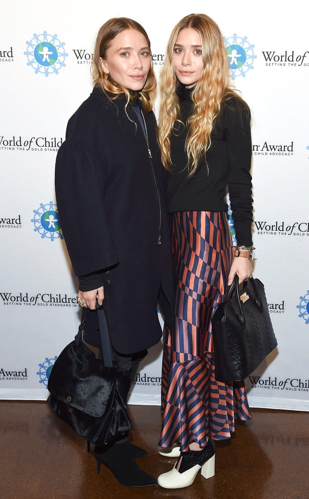Mary-Kate Olsen, Ashley Olsen, Celeb Sisters