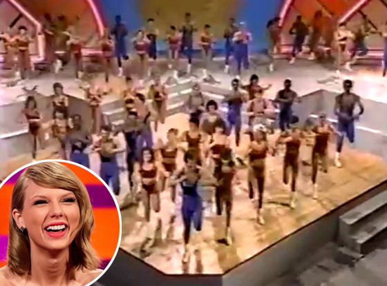 Taylo Swift Shake It Off Aerobics Video