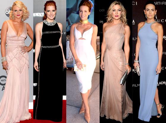 Miranda Lambert, Kate Hudson, Kate Beckinsale, Jessica Chastain, Camilla Belle, Best Looks