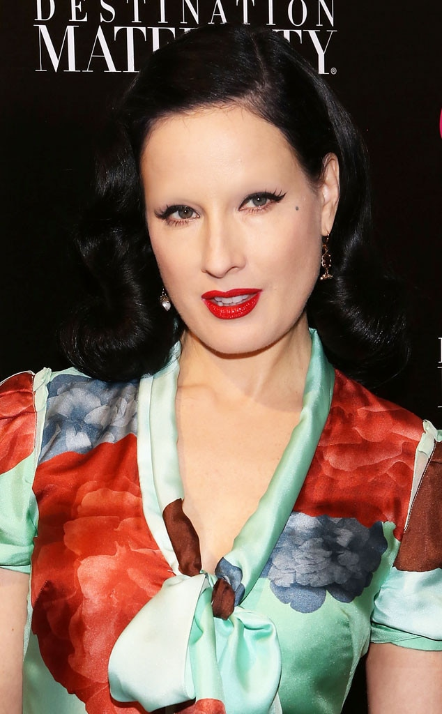 Dita Von Teese From Celebs Without Eyebrows E News