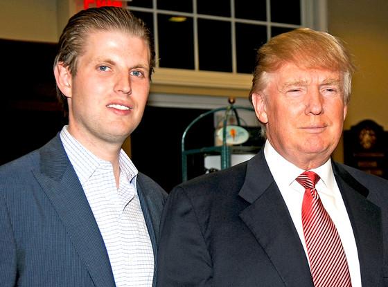 Eric Trump, Donald Trump