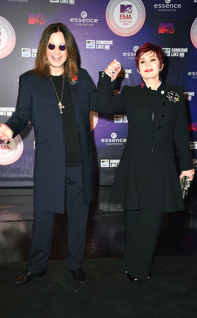 Ozzy Osbourne, Sharon Osbourne, MTV EMA's 2014