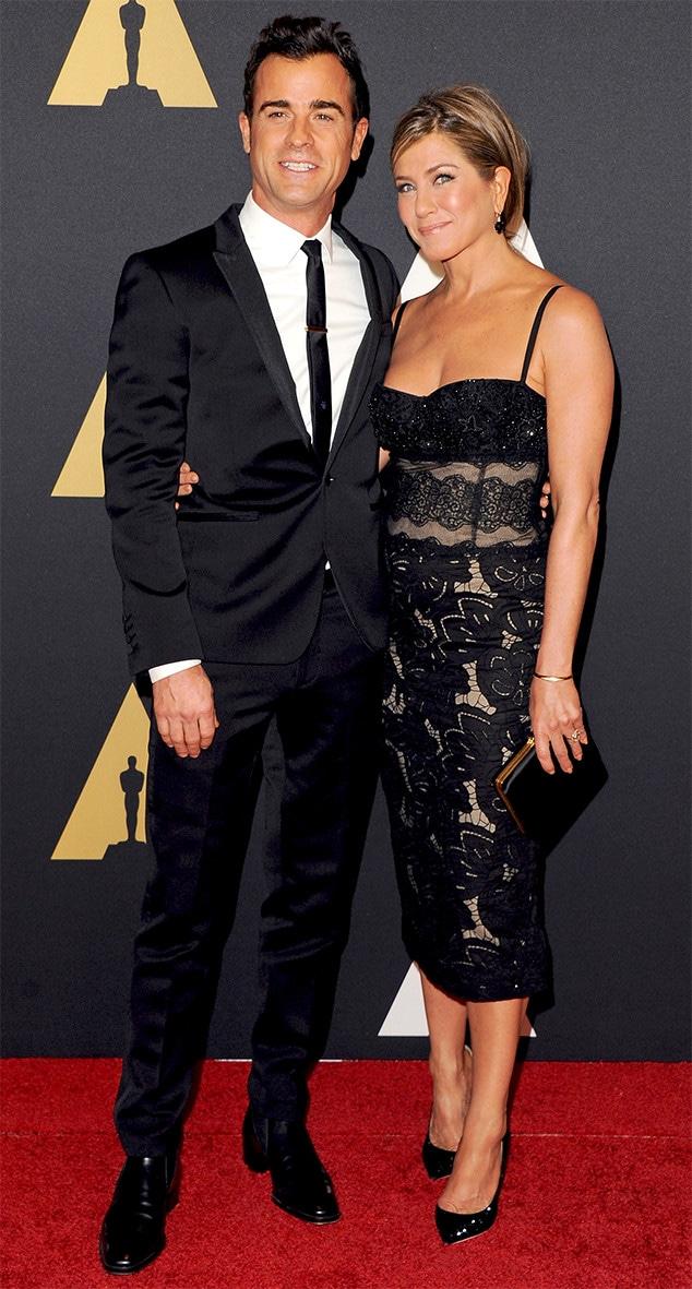 Justin Theroux, Jennifer Aniston, Governors Awards