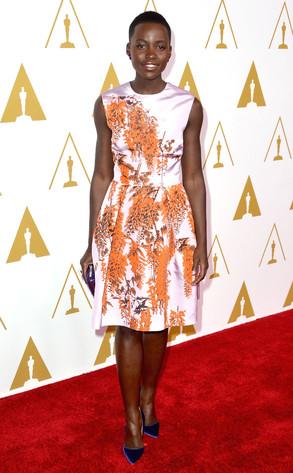 Lupita Nyong'o, Oscars nominee luncheon