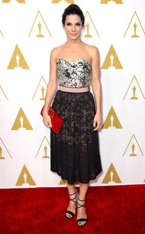 Sandra Bullock, Oscars Nominees Luncheon