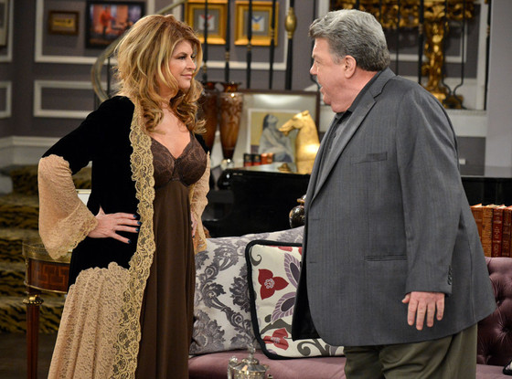 Kirstie Alley, George Wendt