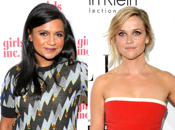 Reese Witherspoon, Mindy Kaling