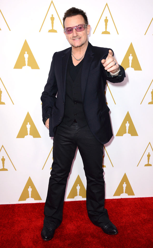 Bono, Oscars Nominees Luncheon