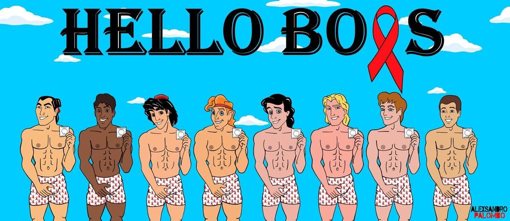 Disney Prince, Hello Boys Awareness Campaign