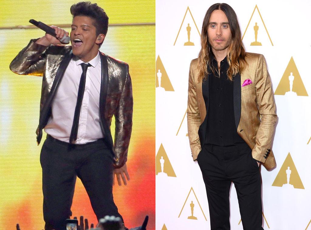 Jared Leto, Bruno Mars, BSML