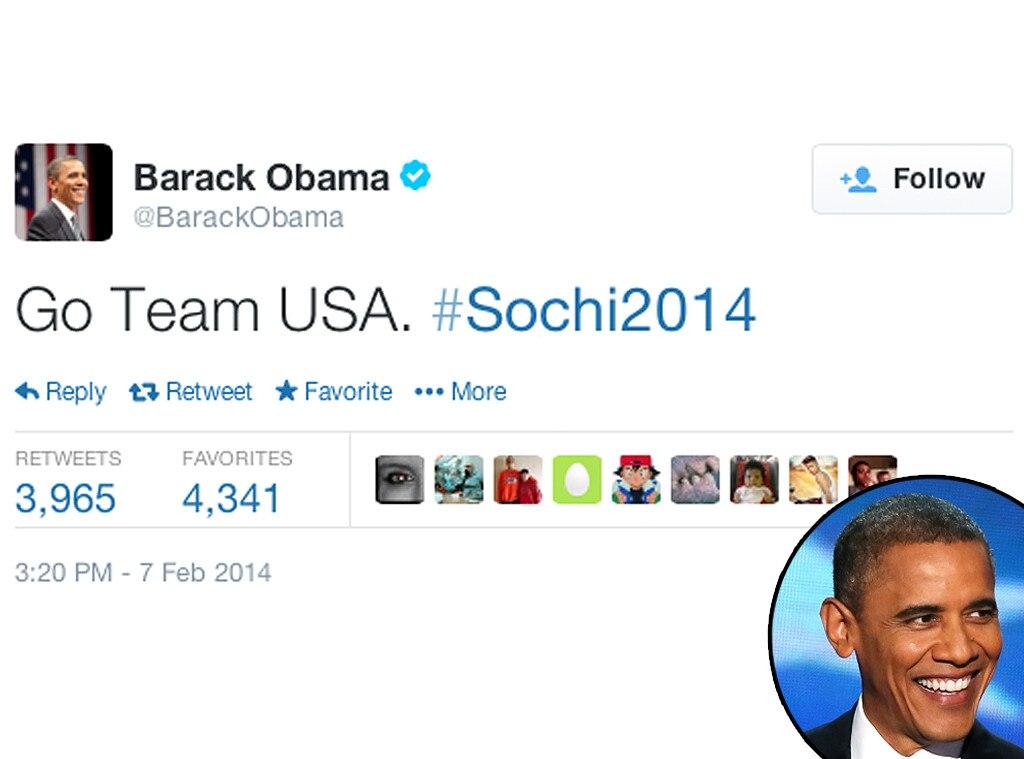 Barack Obama, Twitter, Olympic Tweets