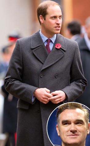 Prince William, Morrissey