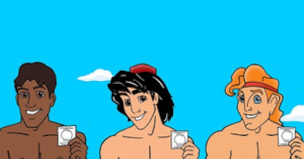 Disney Princes Go Half-Naked, Grab Their Bulges and Hold