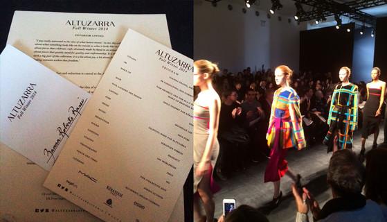 Zanna Roberts Rassi, NYFW Diary, Altuzarra