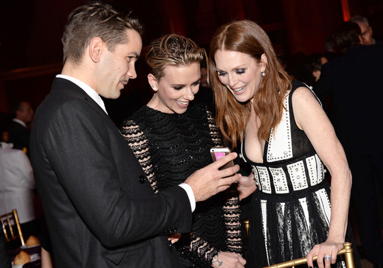 Romain Dauriac, Scarlett Johansson, Julianne Moore