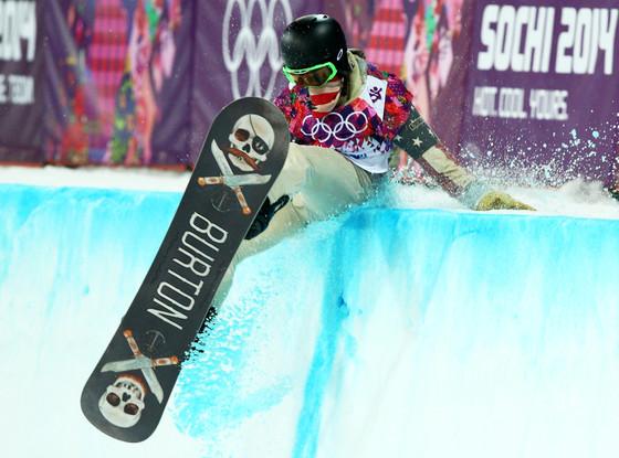 Shaun White, Sochi Winter Olympics, Fall