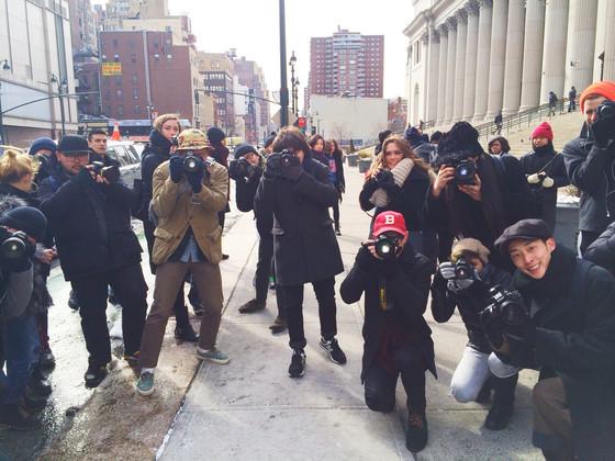 Zanna Roberts Rassi, NYFW Diary, Street Photographers