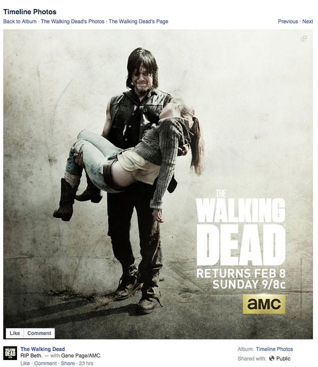 Walking Dead, Spoiler apology