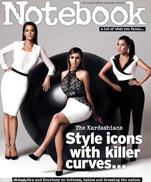 Kardashians capa Notebook
