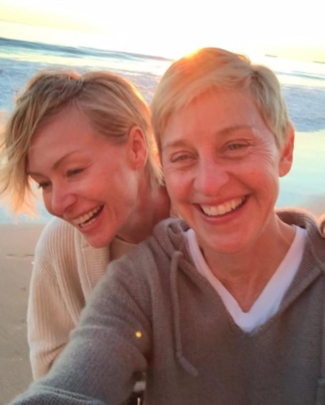 Ellen DeGeneres, Portia De Rossi, Instagram