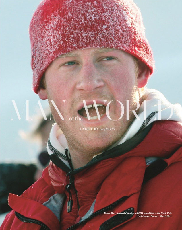 Prince Harry, Man of the World