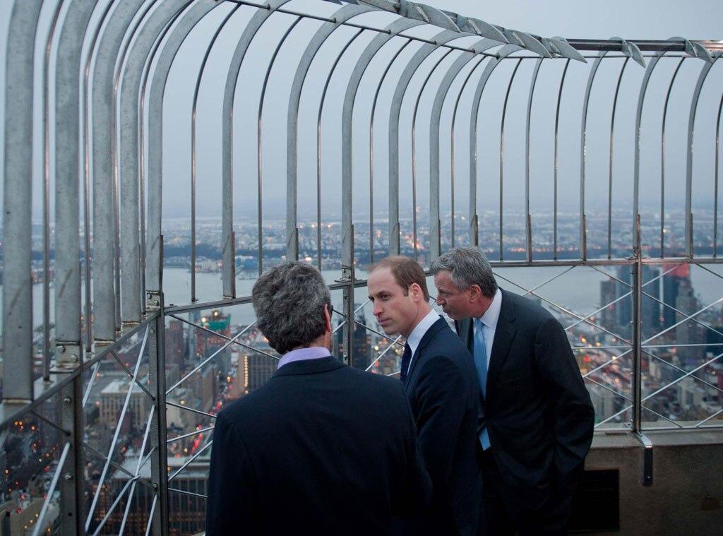 Prince William, Empire State Building
