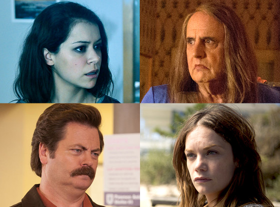 Transparent, The Affair, Parks and Recreation, Orphan Black