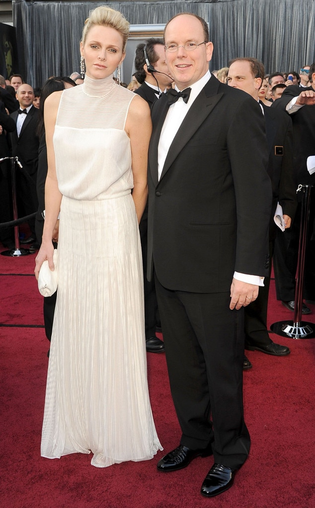 Charlene Wittstock & the Prince of Monaco from Commoners Who Married ...