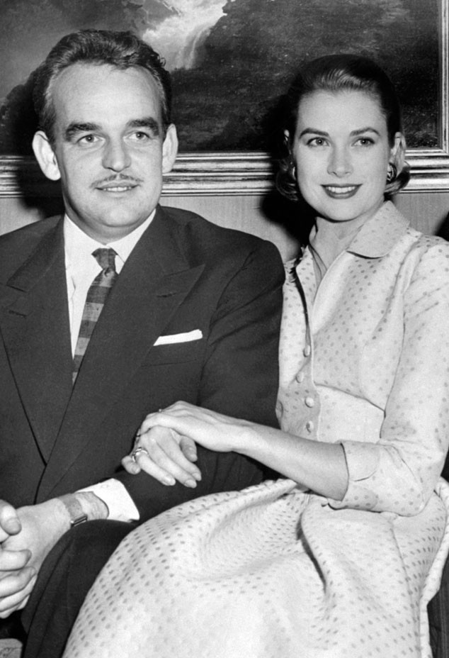 Prince Rainier III of Monaco, Grace Kelly