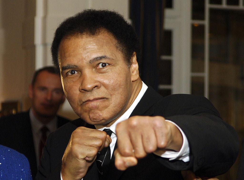 Famosos lamentam a morte de Muhammad Ali