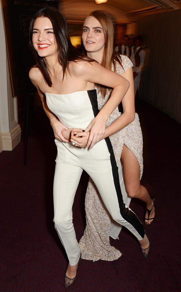 Kendall Jenner, Cara Delevingne