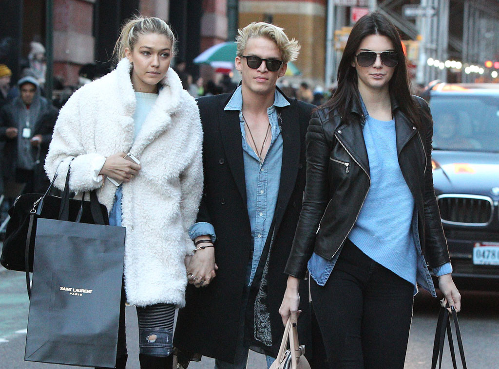 Kendall Auto Group >> Kendall Jenner, Gigi Hadid and Cody Simpson Match Too Perfectly During Friends' Day Out | E! News