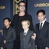 Brad Pitt, Pax, Shiloh, Maddox, Jolie-Pitt