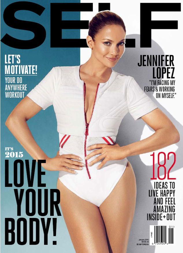 Jennifer Lopez, SELF Magazine