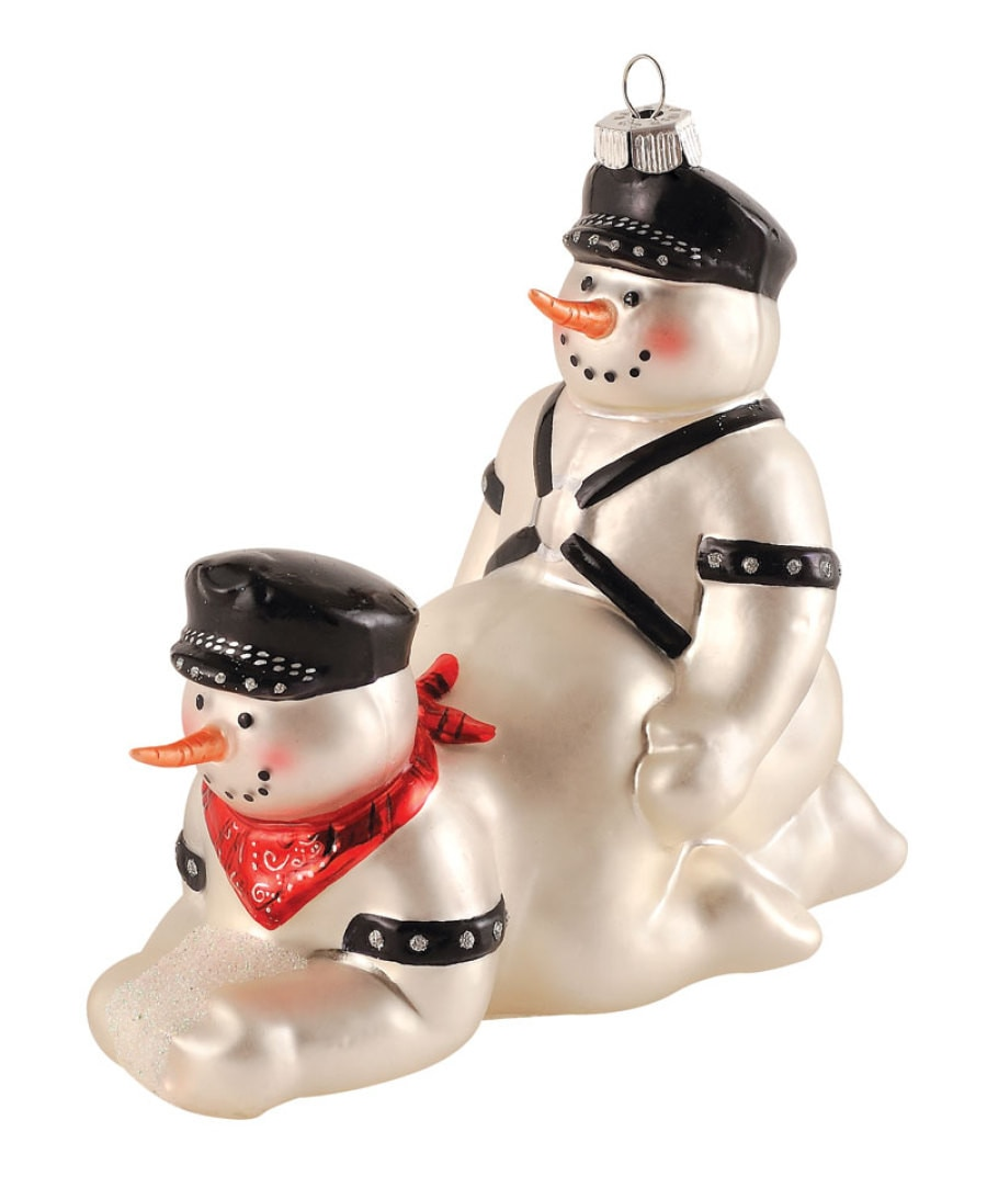 S&M Snowmen From These Christmas Decorations Are Not Okay