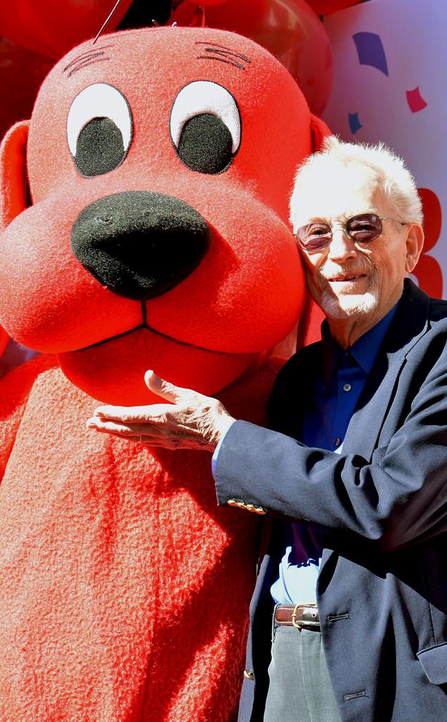 Fine Clifford The Big Red Dog Creator Norman Bridwell Dead At 86 Machost Co Dining Chair Design Ideas Machostcouk