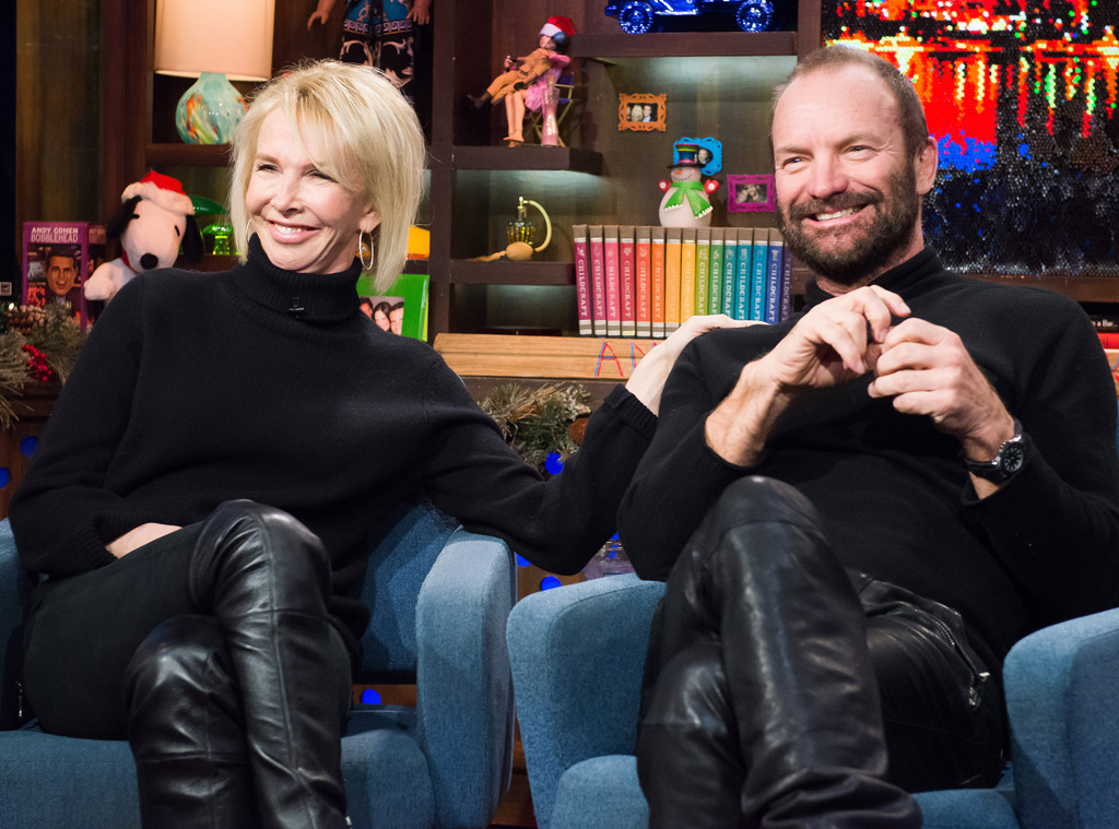 Trudie Styler, Sting, Watch What Happens Live