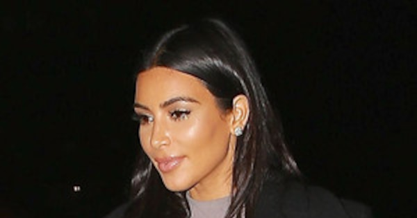 a84adf826 Kim Kardashian Wears Furry High Heels on Date Night with Kanye West—You Have  to See These Shoes!