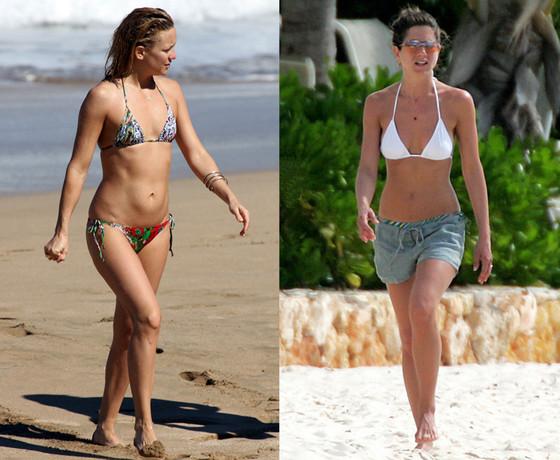 Kate Hudson, Jennifer Aniston, Bikini Bodies