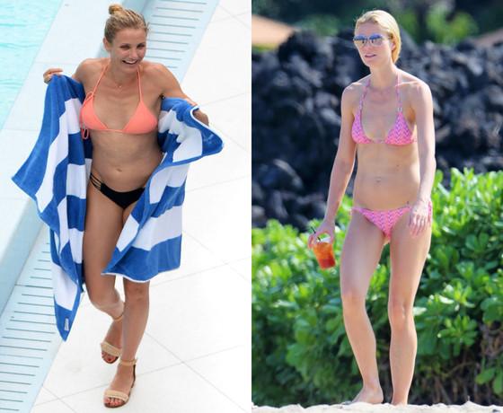 Gwyneth Paltrow, Cameron Diaz, Bikini
