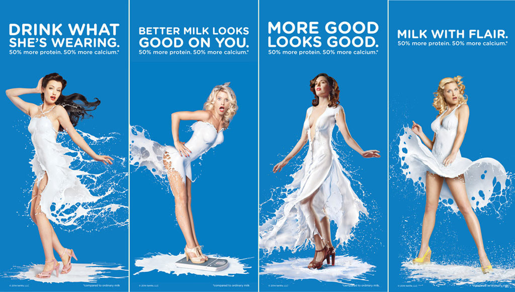 Coca-Cola's Sexist Milk Ads Won't Be Used for Their National