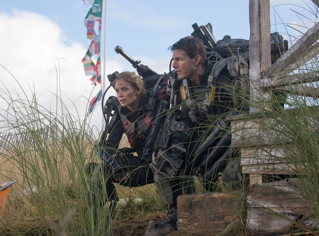 Edge of Tomorrow, Emily Blunt, Tom Cruise