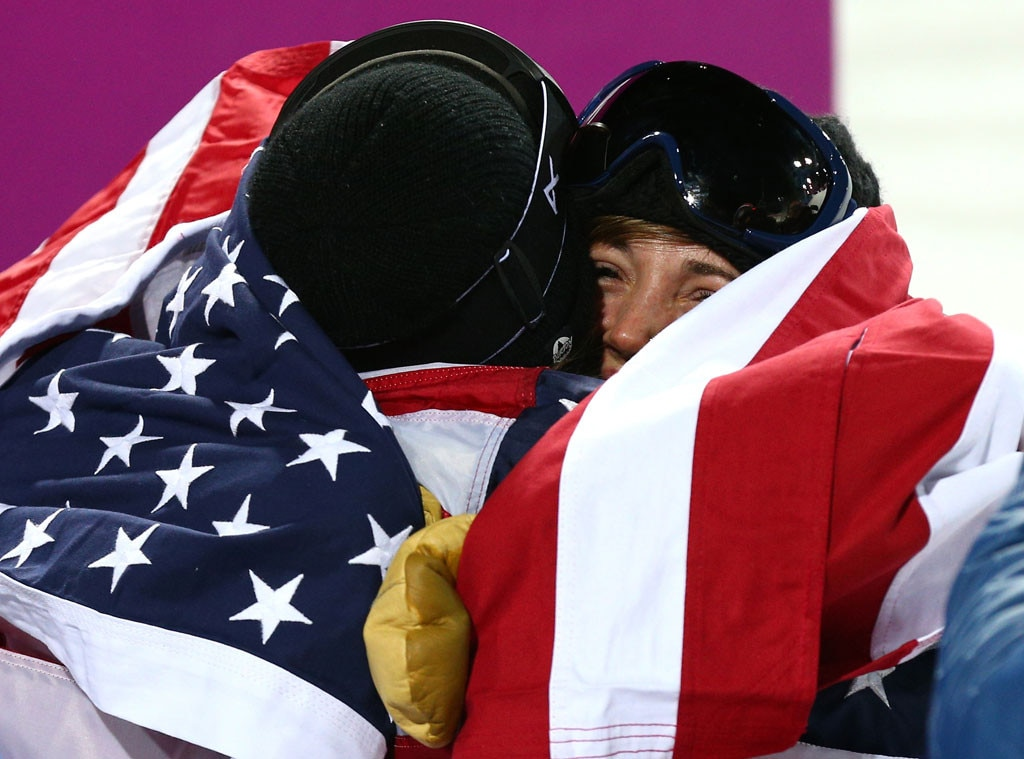 Crying Olympians, Kaitlyn Farrington, Kelly Clark