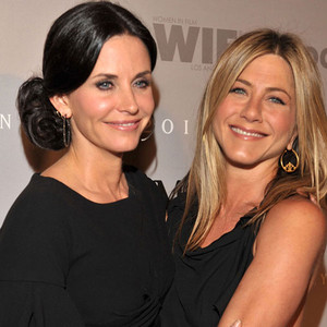 Courteney Cox Arquette, Jennifer Aniston