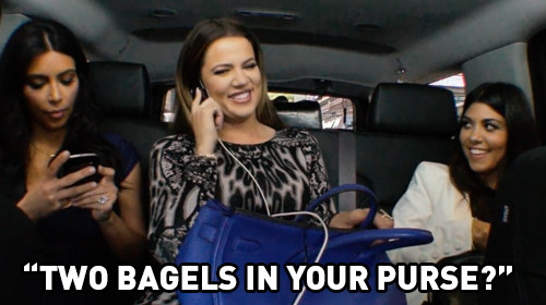 Kourtney Kardashian, Bagel Cravings