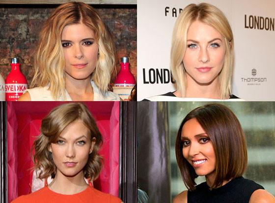 Julianne Hough, Giuliana Rancic, Karlie Kloss, Kate Mara
