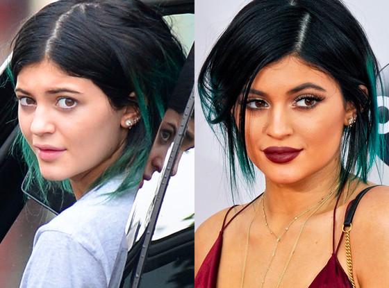 Kylie Jenner, No Makeup