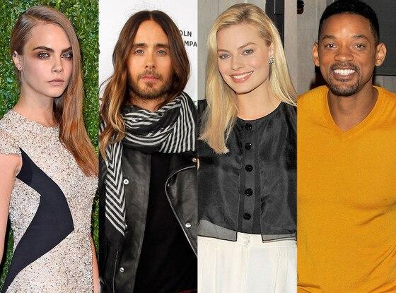 Suicide Squad: Cara Delevingne, Jared Leto, Margot Robbie, Will Smith